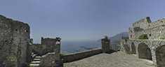 Immagine del virtual tour 'Castello Arechi - sec VI'